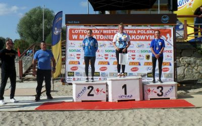 Złote medale na Mistrzostwach Polski w Maratonie Kajakowym dla uczennic naszej szkoły